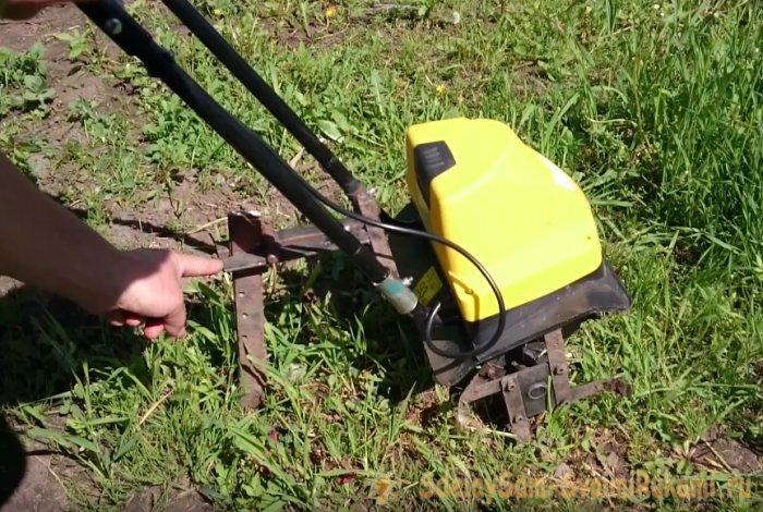 Культиватор электрический – доработка до рабочего состояния