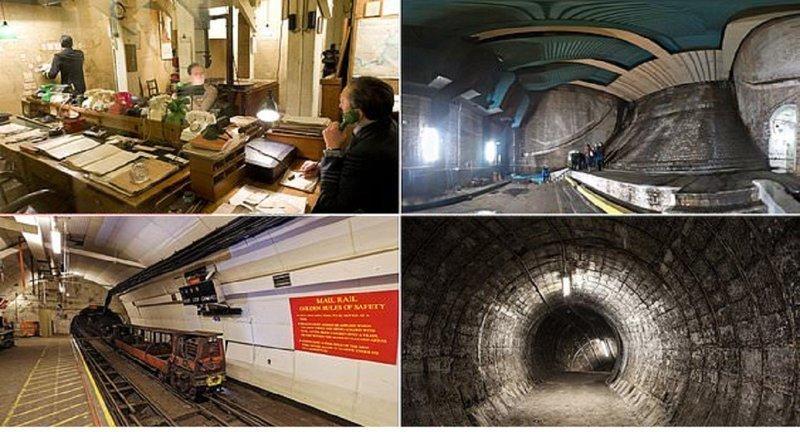 Подземные тайны Лондона (17 фото)
