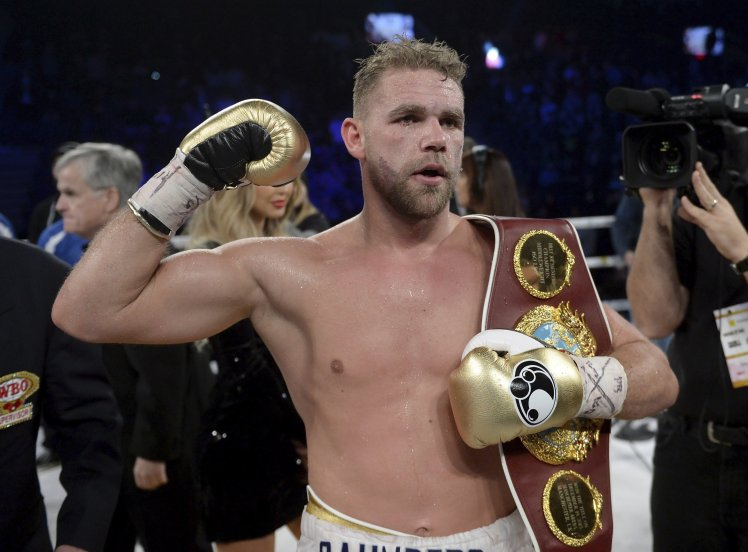 Сондерс вернется в ринг в сентябре