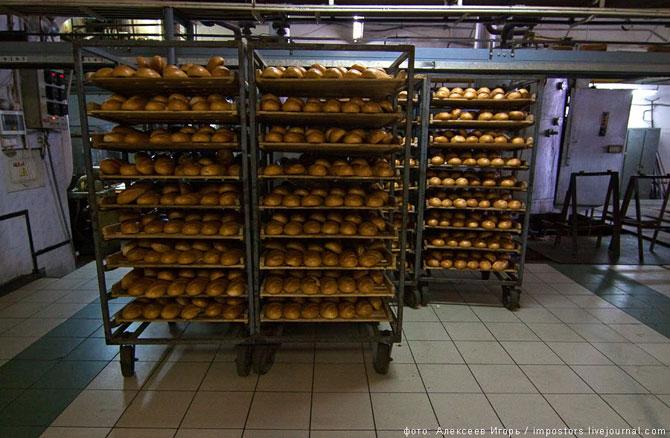 Фоторепортаж с хлебозавода