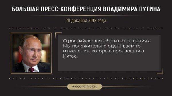 «Знаковый рубеж»: Путин рассказал о товарообороте и отношениях с Китаем