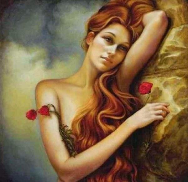 Тайны любви и женской красоты (19 картин)