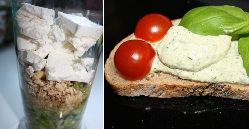 рецепт намазки на бутерброды