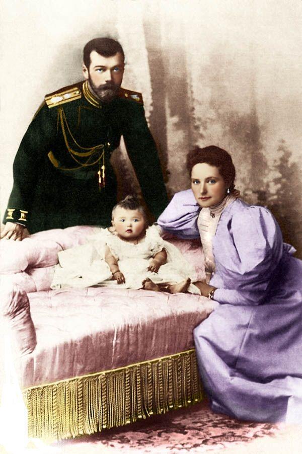 Крещение детей Российского императора Николая II.