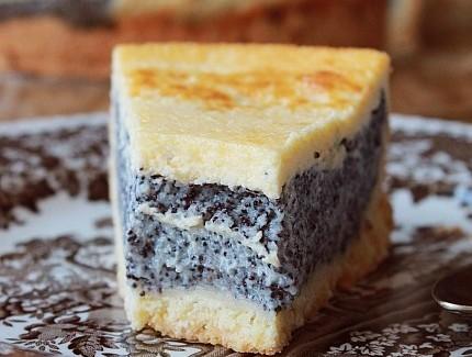 Маковый сметанник — непередаваемо вкусный десерт!