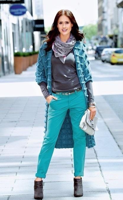 Фактурное вязаное пальто (DIY)
