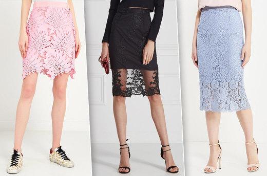 Сама женственность — 7 моделей кружевных юбок, актуальных этим летом