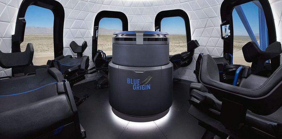 Blue Origin показала «номера…
