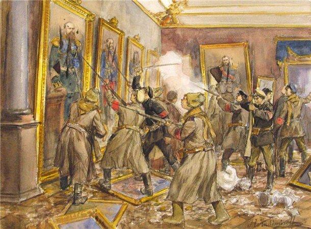 Что большевики продали на Запад