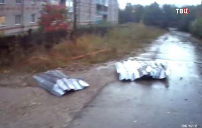 Мощный ураган обрушился на Пермский край