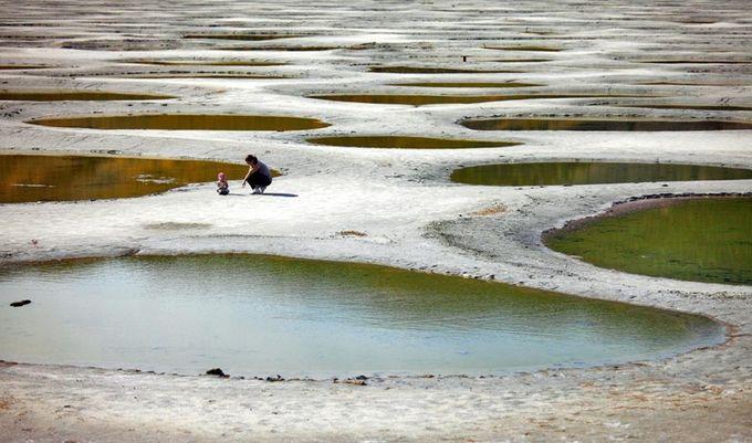 Канадское пятнистое озеро (7 фото)
