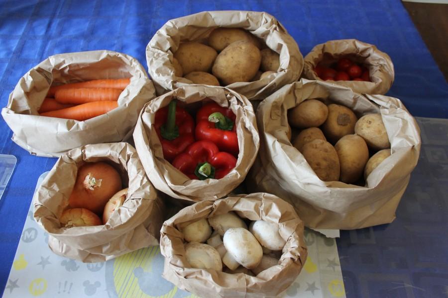 Жуткие цены на фрукты и овощ…
