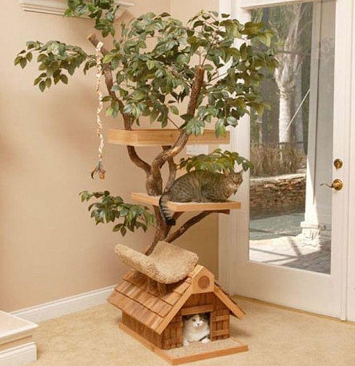 Сделать дерево для дома