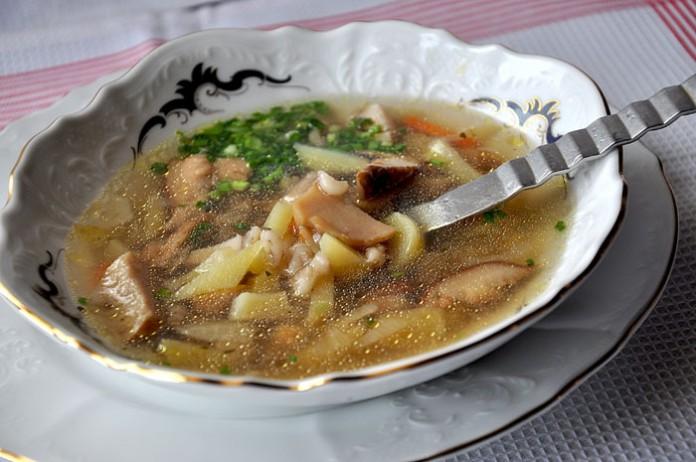 Царский суп и жемчужная ячка