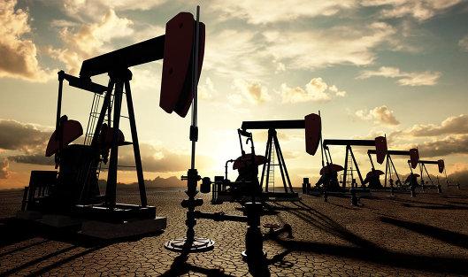 Цена нефти Brent увеличилась до 54,95 долларов за баррель