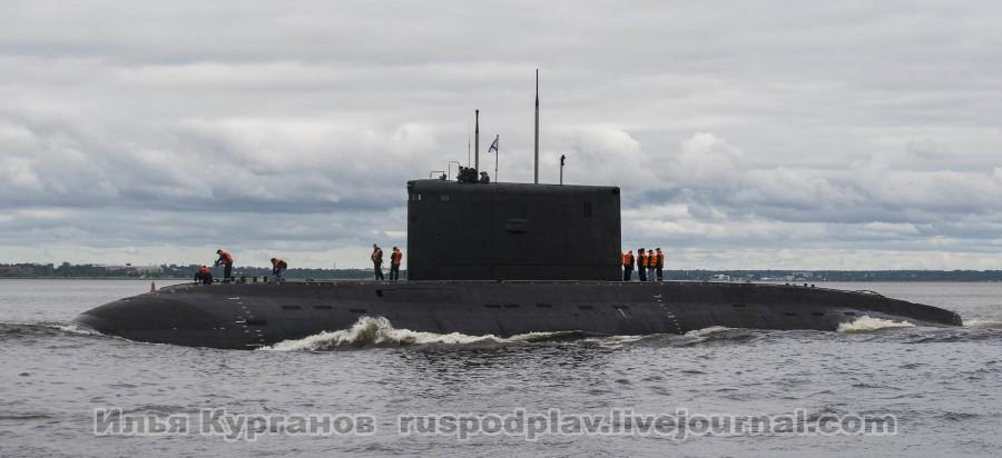 Новая подводная лодка проекта 06361 для ВМС Алжира проходит ходовые испытания