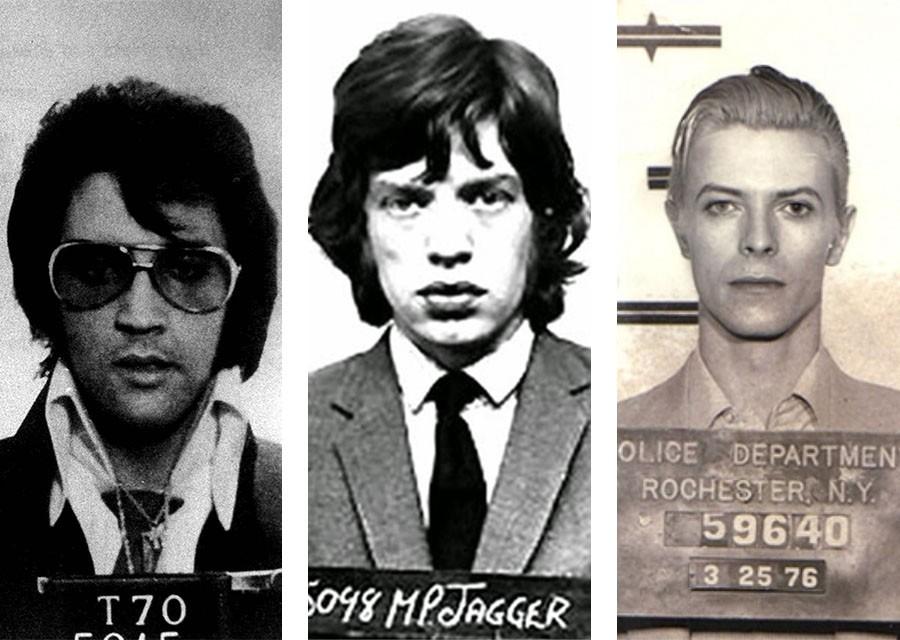 Арестованные звёзды. Фотографии знаменитостей из полицейских архивов
