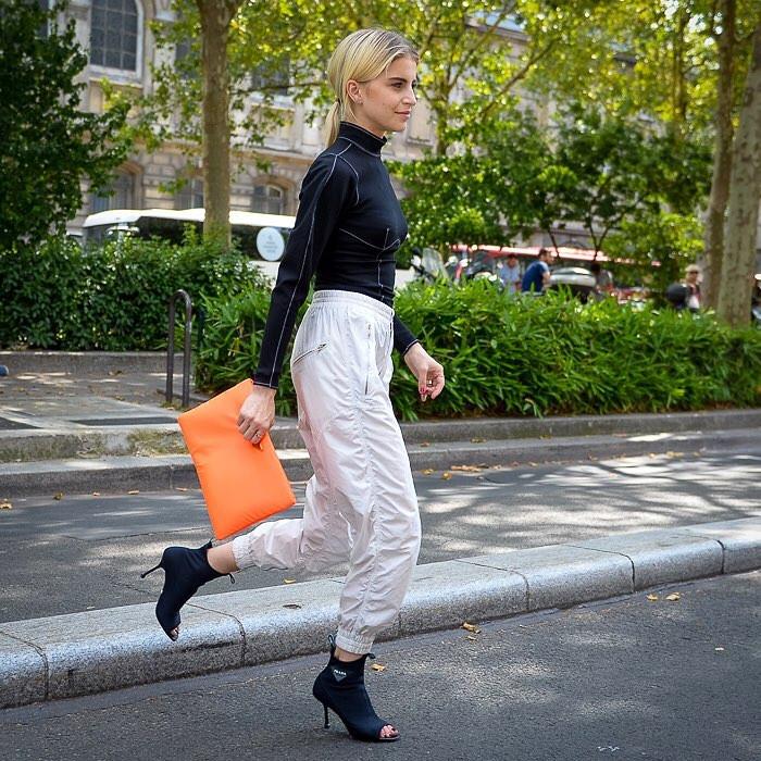 неоновый цвет - модный тренд 2018 - сумка