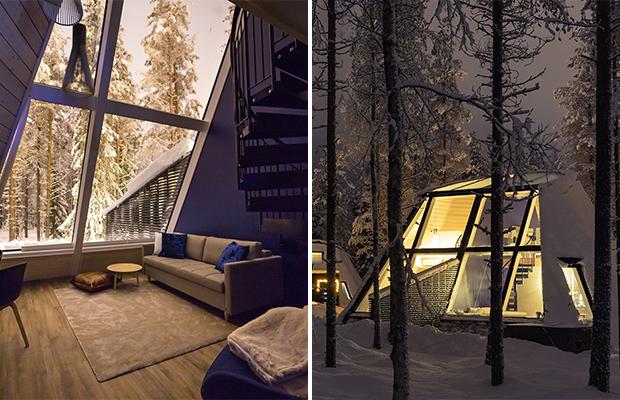 В Финляндии появился отель для наблюдения за северным сиянием
