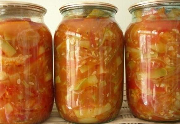 Кабачки и патиссоны — вкусные заготовки на зиму