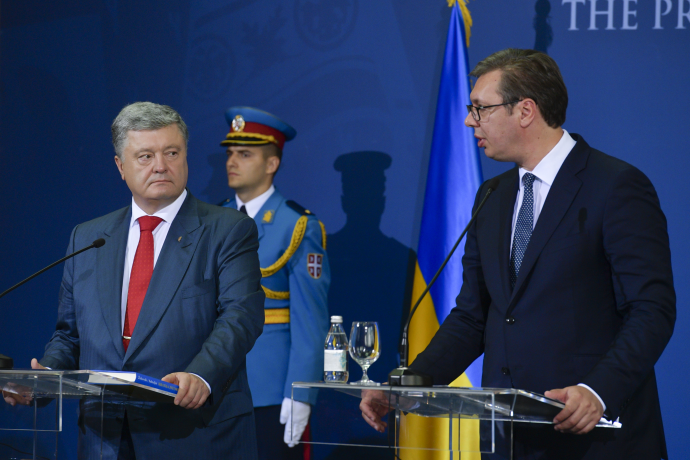 Сербский президент тактично осадил Порошенко