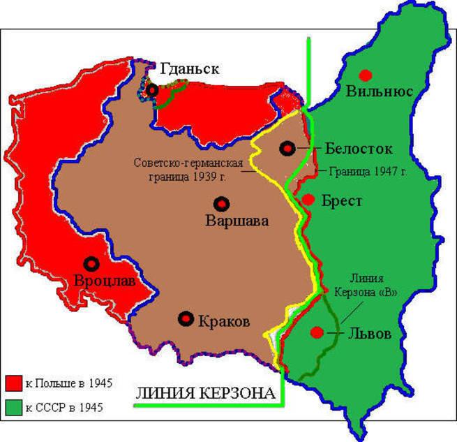 Как Сталин Польшу землями одарил