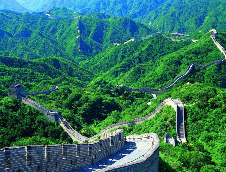 Величественные горы Китая