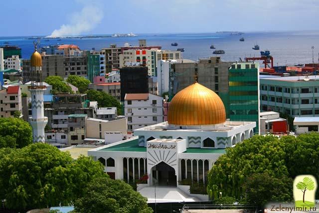 """Красивейшая мечеть """"Великой Пятницы"""" в Мале — исламский центр на Мальдивах - 11"""