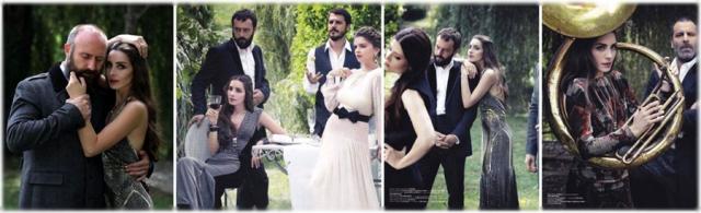 Актеры сериала «Великолепный век» в турецком Vogue