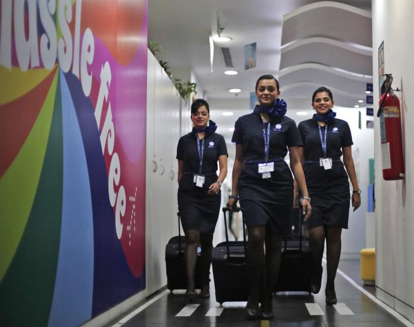Обучение в индийской авиакомпании Indigo Airlines.