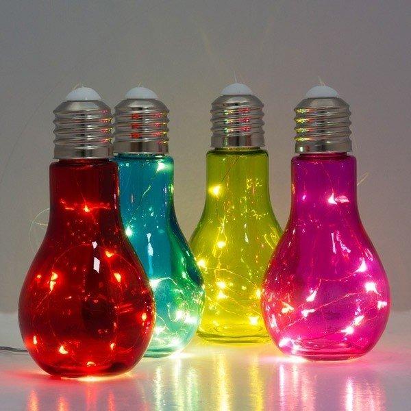 Гениальные идеи поделок из перегоревшей лампочки!