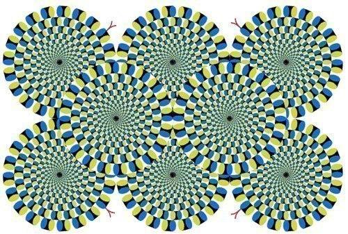 Тут иллюзию изобрел японский психиатр Акиоши Китаока.