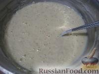 Фото приготовления рецепта: Овсяные оладьи для детей (на молоке) - шаг №6