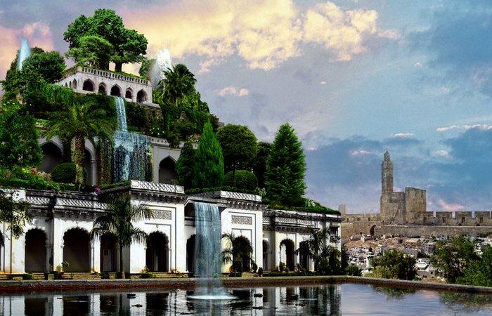 Семь чудес света: Висячие сады Вавилона.