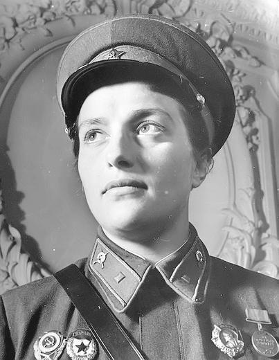подвиг, женщины, снайпера, Людмилы, Павличенко