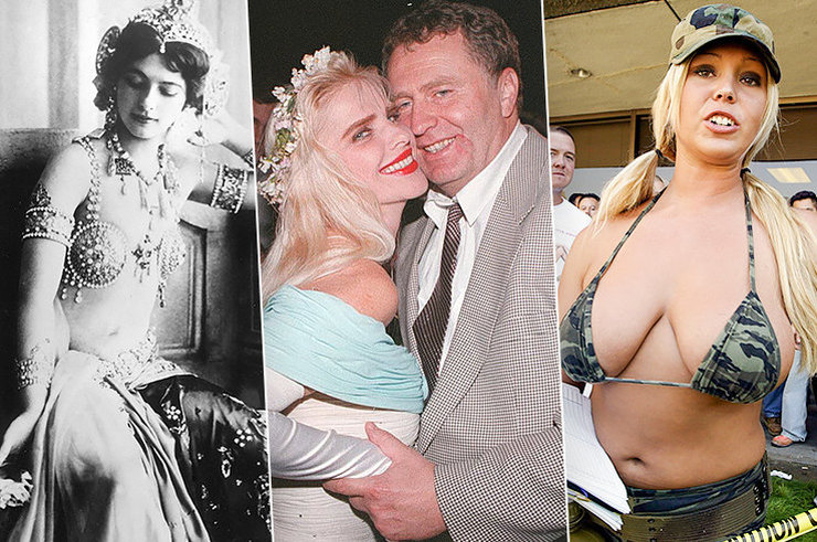 Шпионки по вызову: звезды секс-индустрии, замешанные в политических скандалах