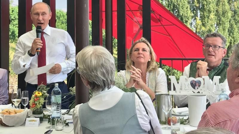 Россия – часть Европы! Реакция в Австрии на визит Путина