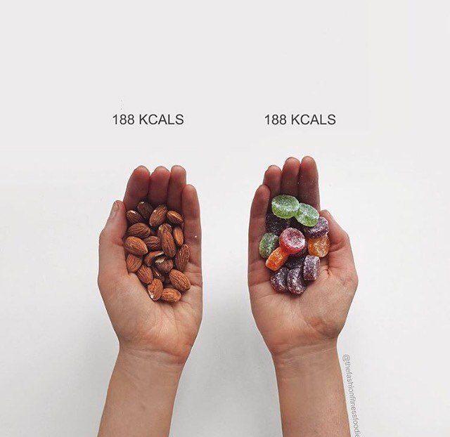 12 фактов, доказывающих, что в здоровой еде не так уж мало калорий