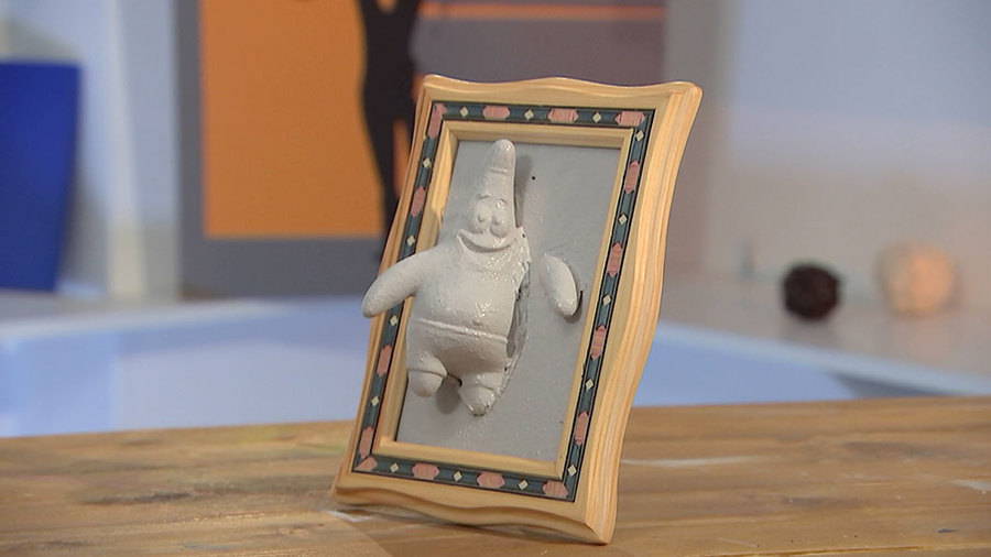Фотография в игрушке