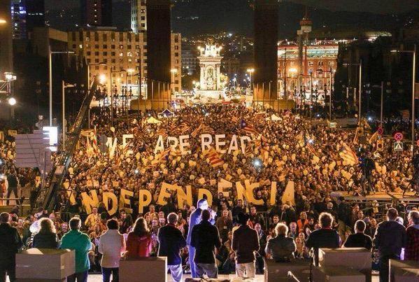 Каталония обвинила Испанию в агрессии