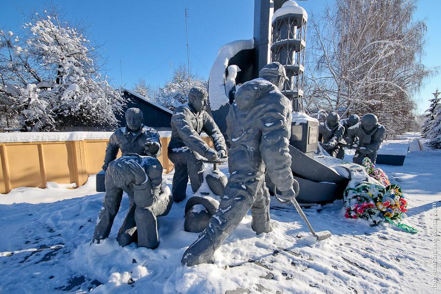 281 Зимний Чернобыль