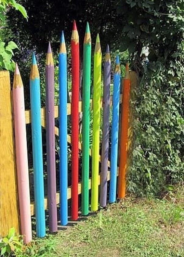 Калитка - карандаши