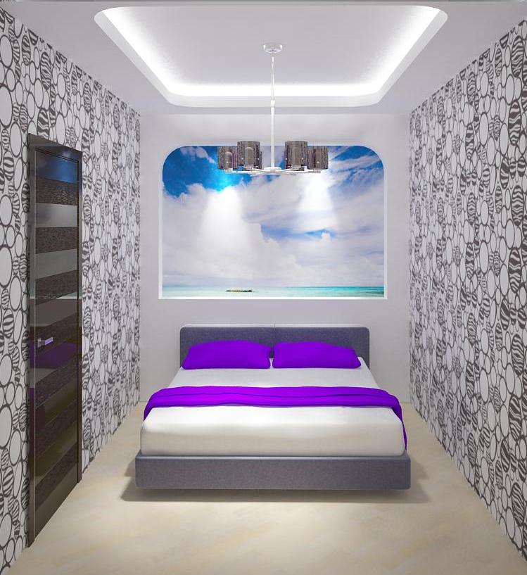 Фото спальни без окна дизайн