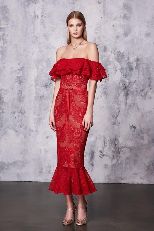 Круизная коллекция 2018 от Marchesa Notte -- шикарные наряды для красных дорожек