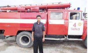 Нурсултан Жунусов спас детей из пожара