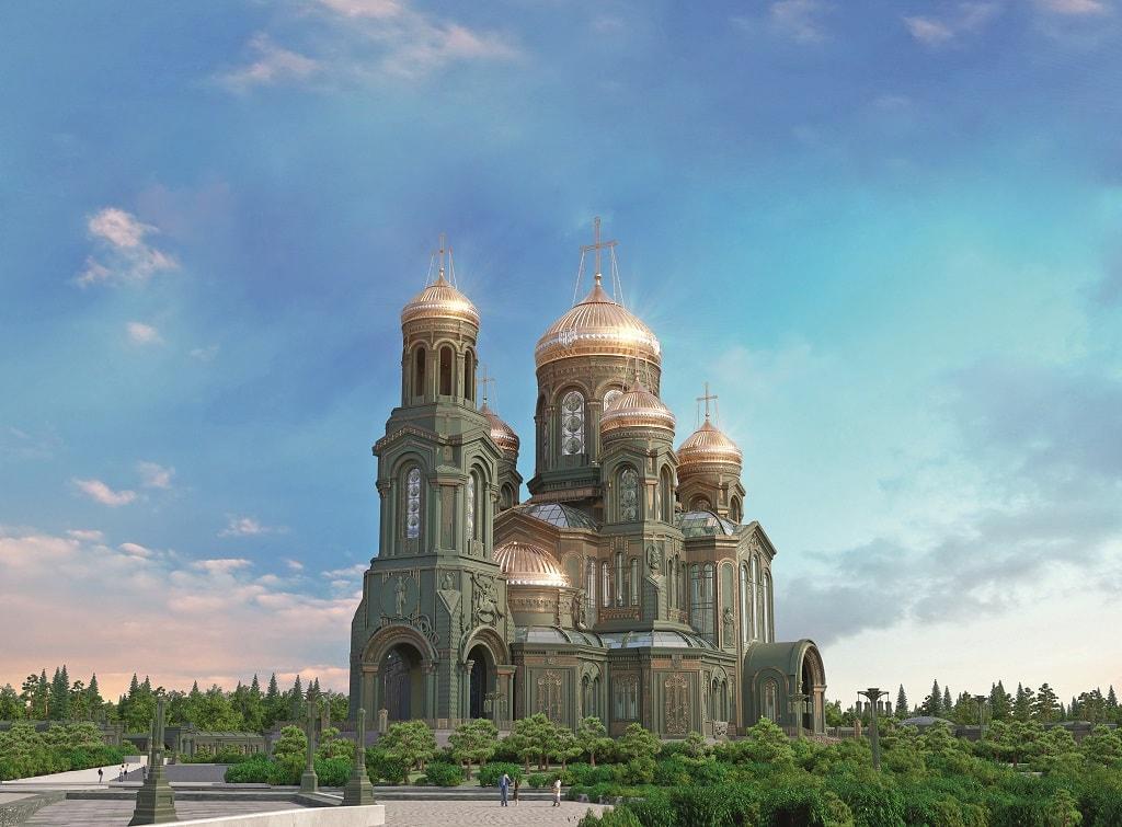 Храм Вооруженных Сил, грядущий