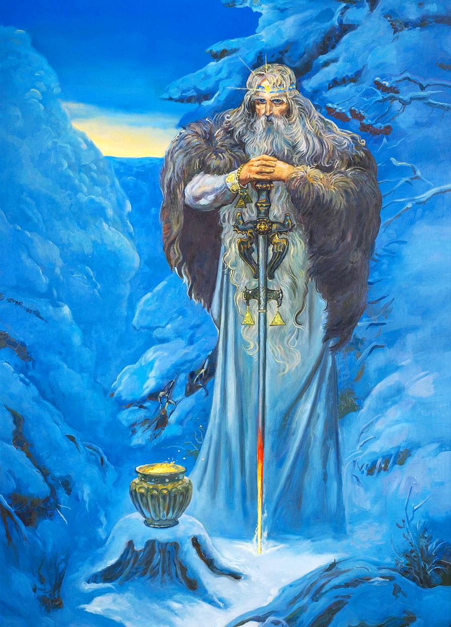 Традиционные особенности встречи праздника Бога Коляды у Староверов и Родноверов