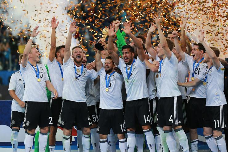 Германия: играют все, а побеждает она