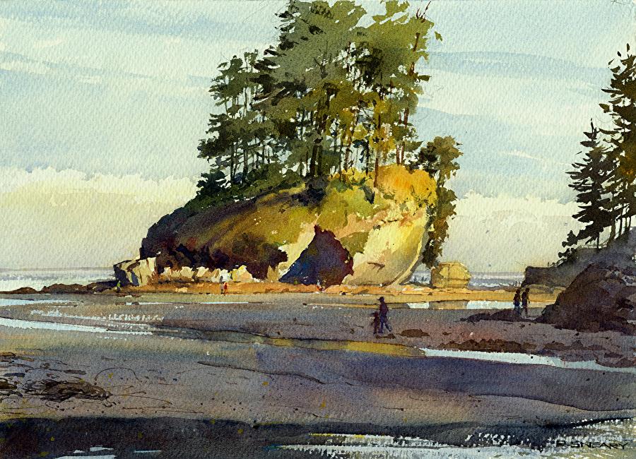 А здесь такая тишина... Американский художник Richard Sneary