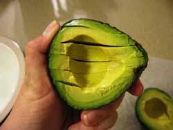 Блюда из авокадо.
